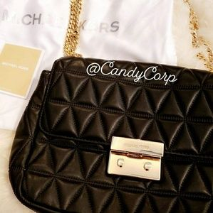 **AUTHENTIC** MICHAEL KORS Quilted Leather